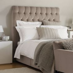 Richmond Headboard - Beds | The White Company - Home and Garden Design Ideas