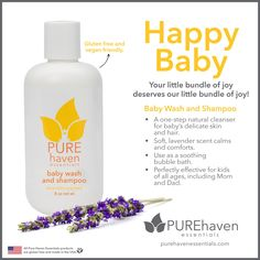 Start your baby's care off right by using PHE Baby Care Products.
