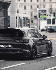 "10.9k Likes, 34 Comments - CarLifestyle (@carlifestyle) on Instagram: ""All Black Porsche Panamera Turbo S 