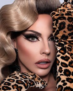 Drag Queen Makeup, Drag Makeup, Hair Makeup, Kameron Michaels, Alyssa Edwards, Baby Queen, Queen Aesthetic, Queen Pictures, Rupaul Drag