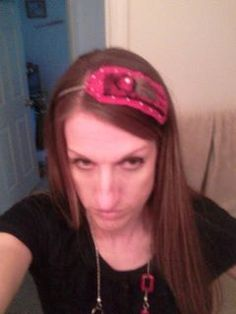 Little Lovie Valentine Headband by toxicsass on Etsy, $10.00