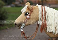 Hobby Horse, Horse Tack, Stick Horses, Old And New, Tent, Rocking Horses, Diy Crafts, Etsy Shop, Anastasia