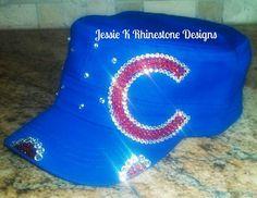 Chicago Cubs bling cadet hat