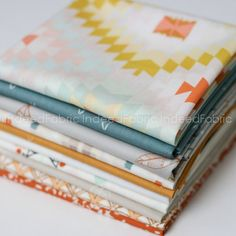 Wanderer Bundle-  Art Gallery, Quilting Weight Cotton, 10 Prints, Half-Yard Bundle by IndeedFabric on Etsy https://www.etsy.com/listing/225224866/wanderer-bundle-art-gallery-quilting