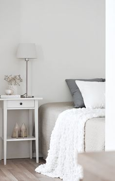 ::Sweet + simple bedroom styling::