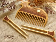 Новости Wood Comb, Carved Spoons, Bone Carving, Wood Creations, Whittling, Hair Sticks, Hair Jewelry, Hair Pins, Herbalism