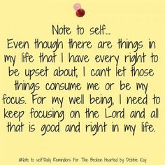 Note to self…Oct. – Note To Self – Daily Reminders For The BrokenHearted Prayer Quotes, Spiritual Quotes, Faith Quotes, Wisdom Quotes, Positive Quotes, Life Quotes, Positive Thoughts, Note To Self Quotes, Gratitude App