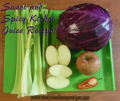 Sweet and Spicy Kicker Juice Recipe! Moderately sweet flavor with a nice kick!