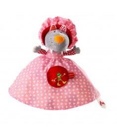Le Petit Chaperon Rouge, marionnette réversible - Lilliputiens - Reversible red riding hood puppet