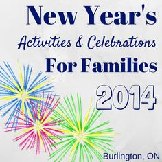 Ring in the New Year with these family-friendly celebrations.