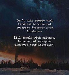 Dont kill people with kindness.. via (http://ift.tt/2mWWVlN)