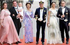 Princess Madeleine of Sweden (pregnant), Queen Silvia of Sweden and Princess Victoria of Sweden