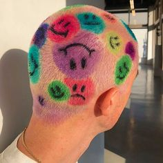 Best Picture For shaved hair designs letters For Your Taste You are looking for something, and it is Shaved Head Designs, Style Audacieux, Buzzed Hair, Shaving Your Head, Shave My Head, Men Hair Color, Hair Colour, Bald Hair, Dye My Hair