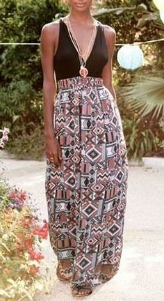 Perfect maxi for a weekend getaway.