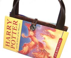 harry potter book purse