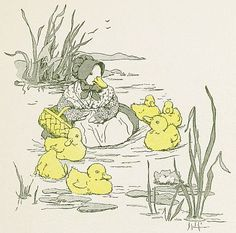 Free Vintage Illustrations of Ducks and Ducklings | Free Vintage Illustrations