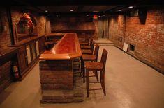 Speakeasy Basement Bar Unlocked Front Door (call upon arrival) - Bar Ideen Basement Bar Plans, Basement Bar Designs, Basement Remodeling, Basement Ideas, Basement Bars, Basement Conversion, Man Cave Bar, Bar Interior, Bars For Home