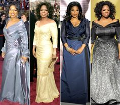 Oprah Winfrey February 29, 2004: Gianfranco Ferre February 27, 2005: Vera Wang March 7, 2010: Carolina Herrera February 27, 2011: Zac Posen