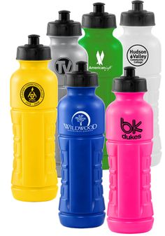 Water bottles -- squeezable