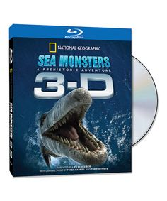 Look at this Sea Monsters: A Prehistoric Adventure 3-D Blu-ray on #zulily today!