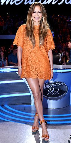 Jennifer Lopez's Best Fashion Moments on American Idol   People