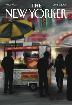new yorker (cover done on an iphone app)