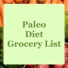 Paleo diet Food Variety Guide