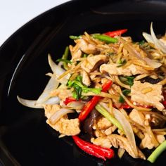 Ginger Chicken Stir Fry - The Gluten Intolerance Group of North America