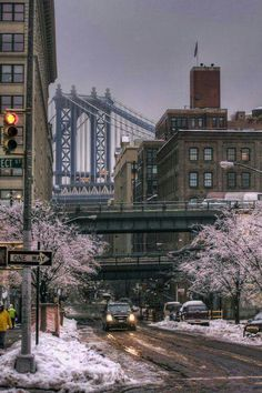 Manhattan Bridge from Washington Street in Brooklyn, NYC Oh The Places You'll Go, Places To Travel, Places To Visit, New York City, Magic Places, Ville New York, Voyage New York, Manhattan Bridge, Manhattan Nyc