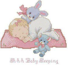 Shhhh Baby sleeping