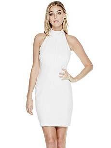 Avalene Sleeveless Dress | GUESS.com