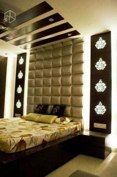 Bedroom False Ceiling Design, Bedroom Furniture Design, Modern Bedroom Design, Master Bedroom Design, Lounge Design, Sofa Design, Plafond Design, Bedroom Cupboard Designs, Donia