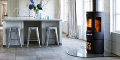 Adding warmth and character with this Morso stove