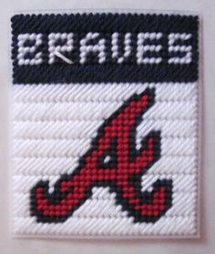 1000 Images About Baseball Plastic Canvas On Pinterest