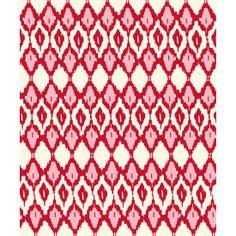 fuschia ikat recycled cotton throw (www.greenwithglamour.com)