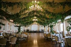 garden themed indoor party - Google Search