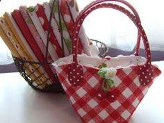 Sew Cherry Snippet Bag - Cute Decor