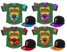 "A Minor League Baseball Team Just Unveiled ""Teenage Mutant Ninja Turtle"" Jerseys And They Are Fantastic"