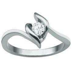 Prism Jewel 0.25 Carat Round Brilliant Cut Bezel Set Black Diamond Solitaire Pendant 10k Rose Gold