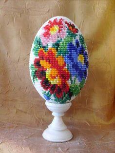 """Яйцо сувенирное """"Цветочный тандем"""""""