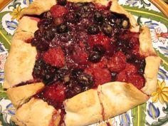 Cupcakes for Breakfast: raspberry blueberry galette