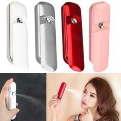 טעינת USB ננו ערפל ריסוס Handy האטומיזציה מיסטר פנים פנים מכשיר יופי לחות מיני עם בקבוק תרסיס