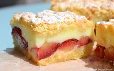 Stojí za to ho vyskúšať! Polish Desserts, Polish Recipes, Sweet Recipes, Cake Recipes, Dessert Recipes, Prune Recipes, Romanian Desserts, Czech Recipes, Different Cakes