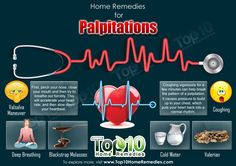 Top 10 Home Remedies for Heart Palpitations
