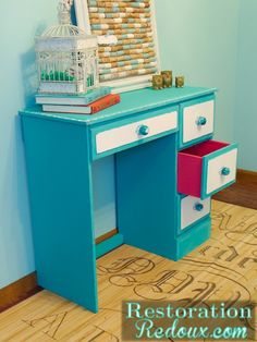 Child's Painted Desk - Restoration Redouxhttp://www.restorationredoux.com/?p=5897