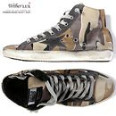 Today's Hot Pick :13FW GOLDEN GOOSEVintage Camouflage High Top Sneakers(Beige Camouflage)G23H502 I3 http://fashionstylep.com/SFSELFAA0005305/wiberluxen/out Ideal vintage sneakers, made from a canvas material in a camouflage design. High top with a lace up front, logo patched tongue and zipper side accents. Exclusive star collection with thick and durable soles and comfy soft insole for a convenient and stylish wear.