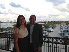 with my bride in downtown Miami