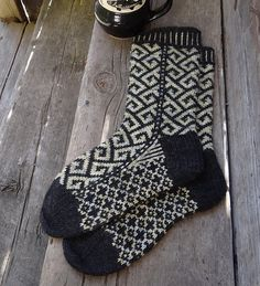 Ravelry: Philosophers Walk Socks pattern by Lesley Melliship