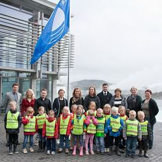 Blue Lagoon was awarded the Blue Flag for water quality and environmental management #BlueLagoon #Iceland #blueflag