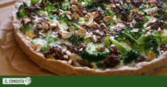 broccoli quiche with sausage and hazelnuts Slimming Eats, Slimming World Recipes, Quiches, Ham And Broccoli Quiche, Tart Recipes, Cooking Recipes, Brick Oven Pizza, Zucchini Puffer, Artisan Pizza